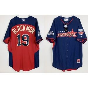 SIGNED Blackmon Jersey 2014 All Star Game Rockies